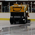 Zamboni Ice Scraper on the rink