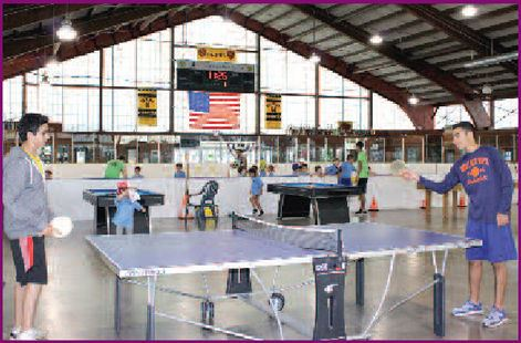 Ping Pong Table at the Recreation Center