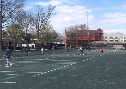Tennis 2 at Memorial Field 2018