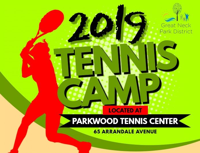 2019 Tennis Camp logo