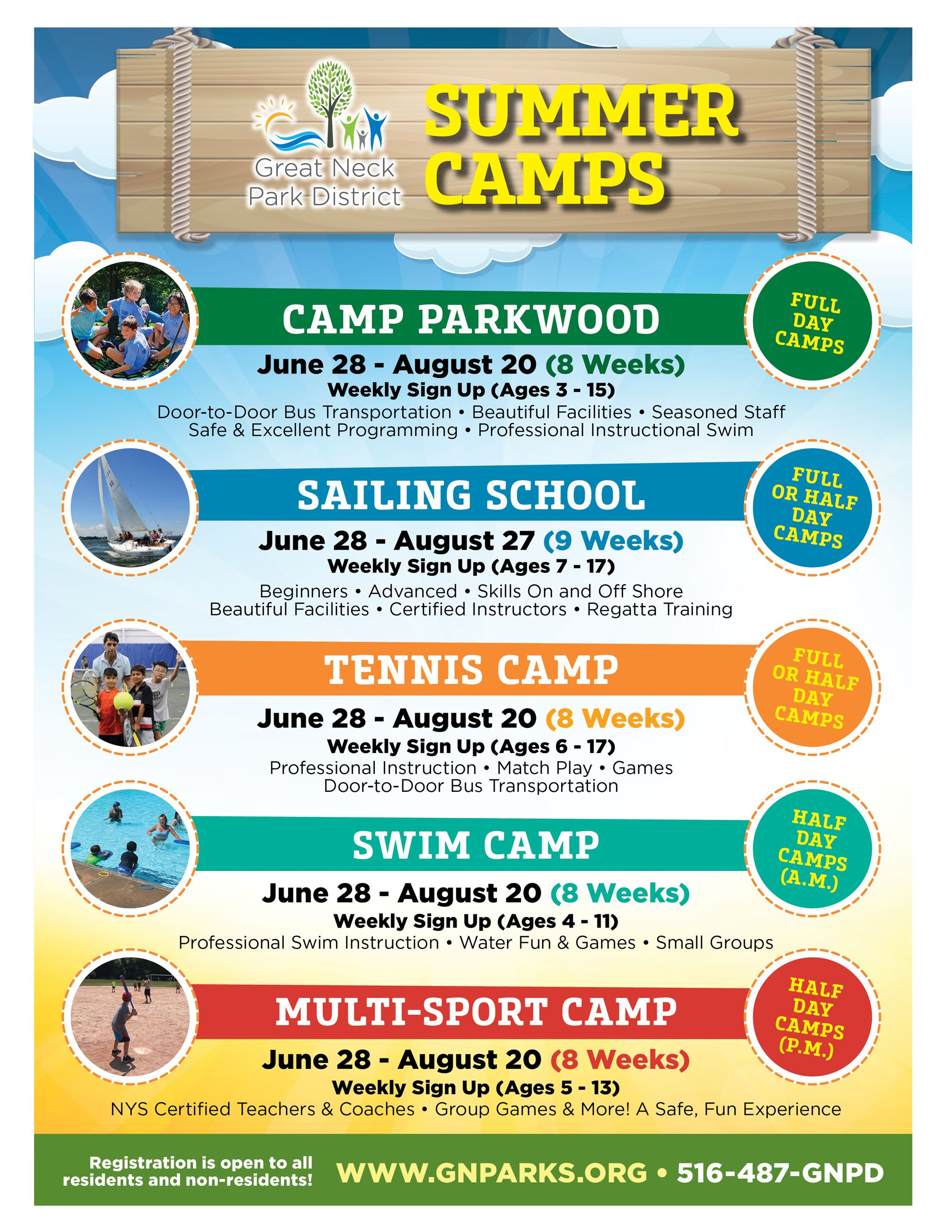 2021 8.5x11 Summer Camps Flyer with Tennis (NEW)
