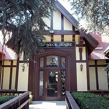 Great Neck House Entrance featuring front door